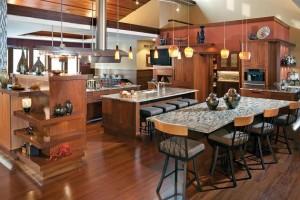 Fornecer uma cozinha de estilo americano