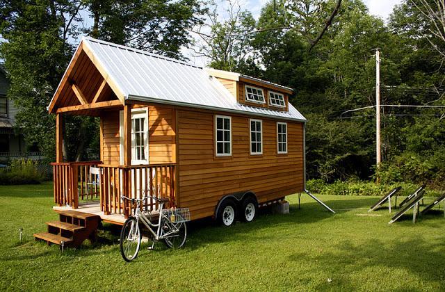 A casa ecologica e de design, sobre rodas