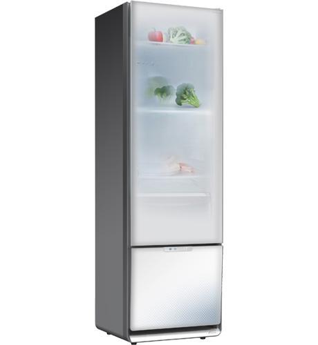 Essa geladeira talvez nos lembre do padrão de bares e restaurantes