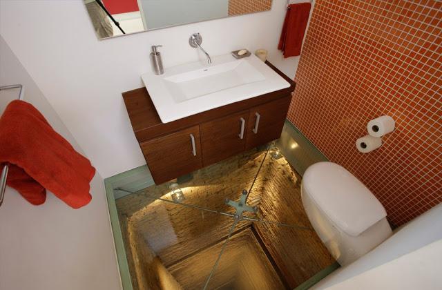 Um Banheiro de arrepios