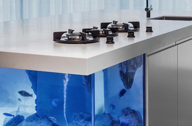 A cozinha Oceano