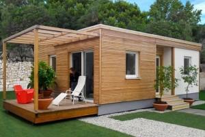 Casinhas pré-fabricadas de madeira, personalizada: projetos e preços