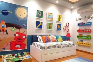 Idéias e cores para quarto das crianças