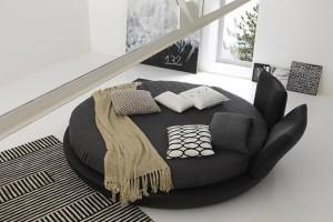 Cama redonda: uma decoração única para o seu quarto