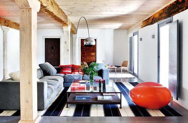 Decorar uma casa em estilo rústico