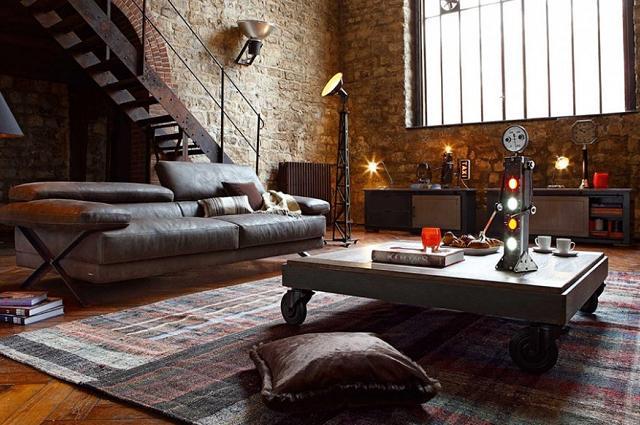 Decorar a casa em estilo industrial, conselhos e inspiração