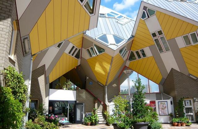 Casa Cube em Roterdã, na Holanda