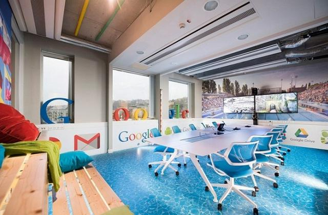 Os escritórios fantásticos da Google em Budapeste