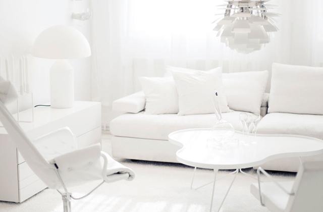 Decorar tudo em estilo total white