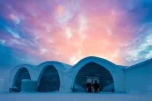 O maior hotel de gelo do mundo