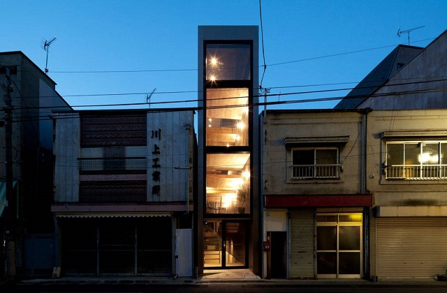 A casa mais estreita do mundo, mas com um interior espectacular