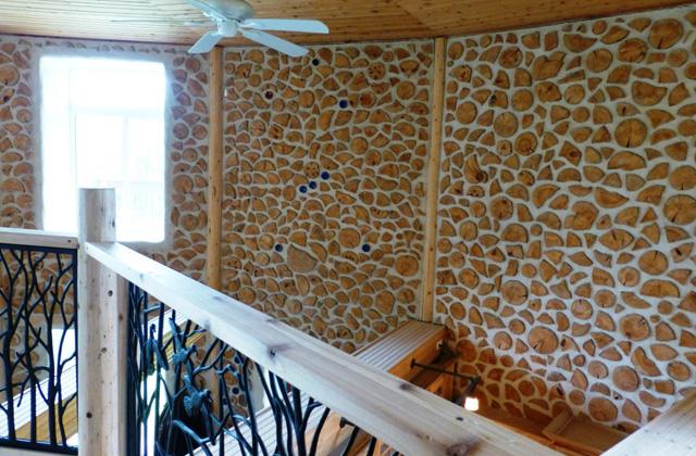 Uma casa cordwood feita de troncos de madeira p gina 4 de 4 for Cordwood house cost