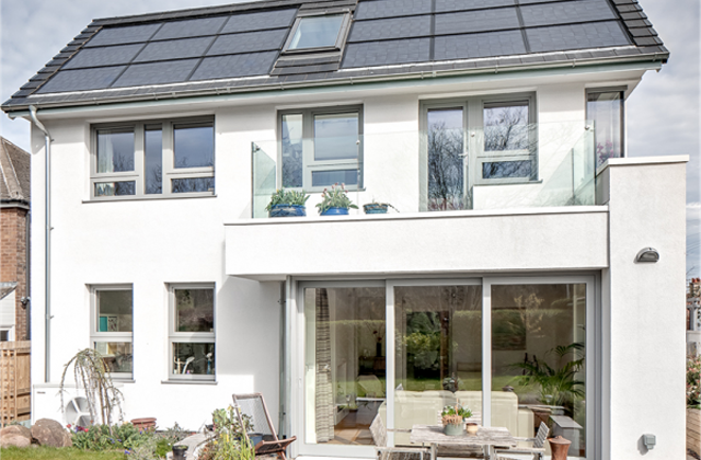 Uma casa fotovoltaica de apenas 1,80 dólares ao mês