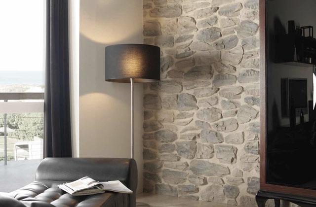 Como criar uma parede falsa de pedras, facilmente
