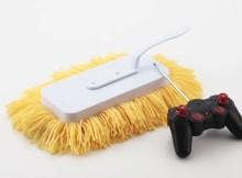 O robô de limpeza controlado por rádio