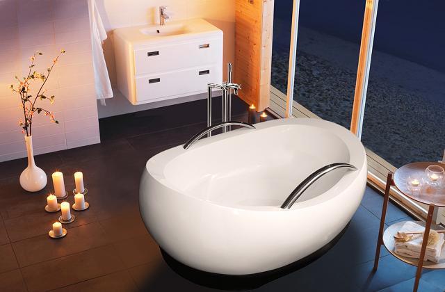 As melhores banheiras extralarge