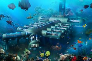 Um hotel subaquático para salvar a Barreira de Coral