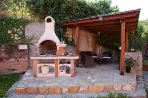 Idéias para a área do churrasco no jardim