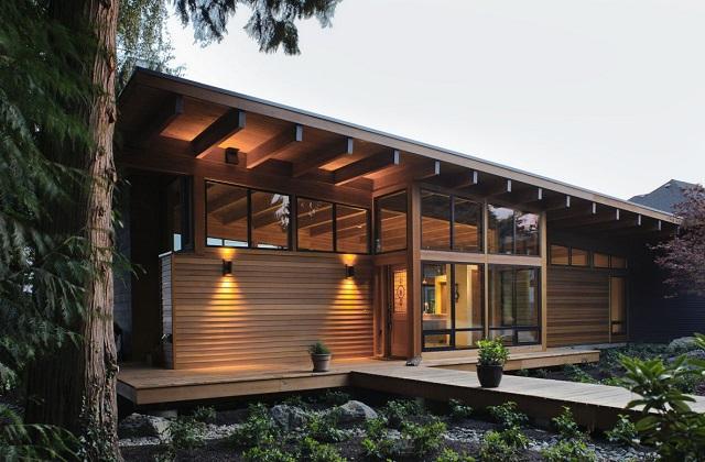 A casa ecológica que se controla com o smartphone