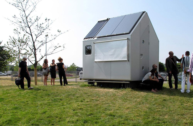 Viver em 7 metros quadrados: Aqui está a menor casa do mundo!