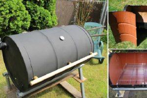 Faça você mesmo: como fazer uma churrasqueira com um tambor