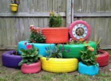 Ideias de faça você mesmo: Pneus reciclados