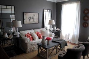 Decorar com cores chiques: O preto e prata