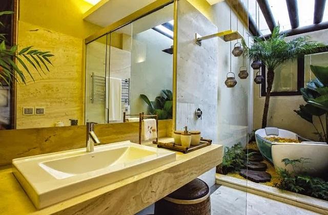 Criando um banheiro dos sonho: Concentramos no luxo