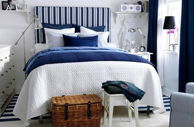 Decorando o quarto com azul: A cor do relaxamento e harmonia