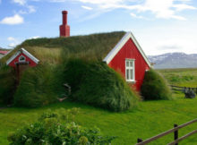 As turf houses islandesas: casas que parecem brotar da Terra