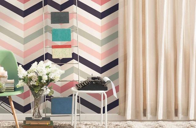 Voltar na moda papel de parede em estilo do vintage