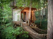 A casa da árvore reservada até 2018