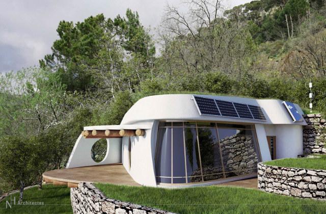 Projeto Lifehaus para uma casa totalmente eco sustentável