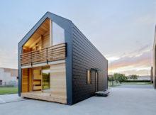 Leaphome: a casa que foi projetada para ser eficiente energicamente e fácil de construir