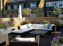 Como decorar o terraço em estilo londrino
