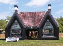 Paddy Wagon Pub: o bar irlandês inflável