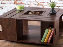 De uma caixa de madeira para uma bela mesa com recipientes