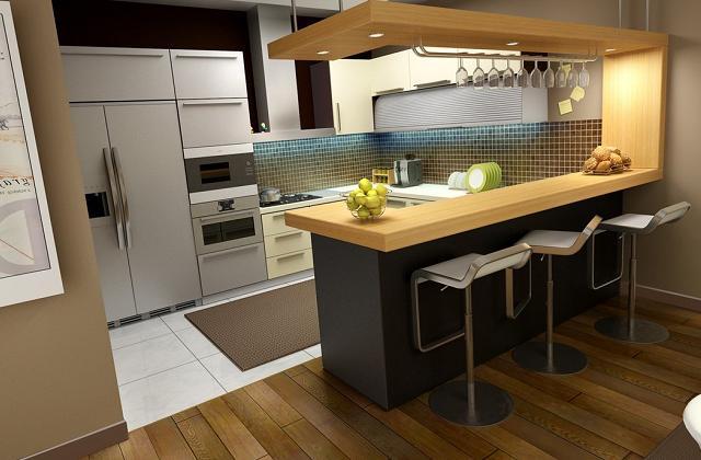 Escolher o material para bancadas na cozinha