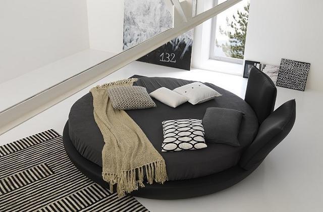 Cama redonda : uma decoração única para o seu quarto