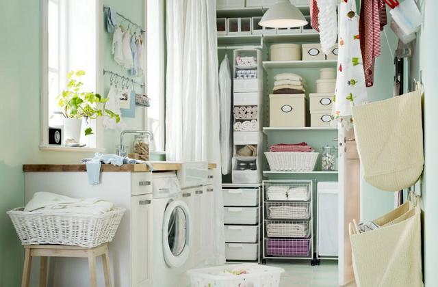 Como organizar e decorar a lavanderia de casa