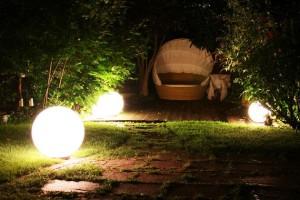 Iluminar o Jardim Sem custos