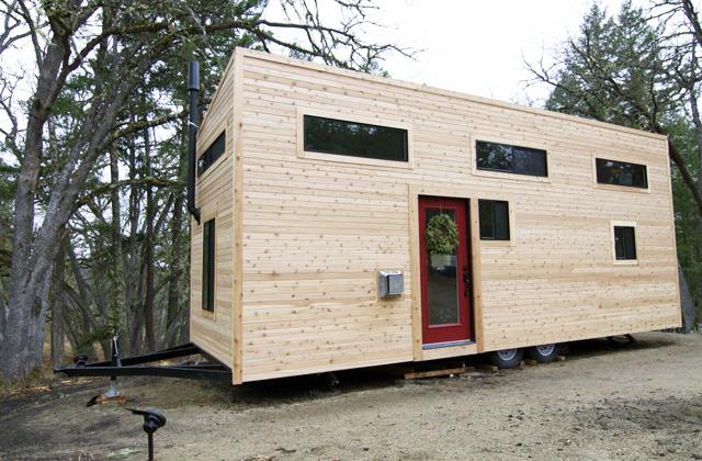 Uma pequena grande casa sem hipoteca e contas