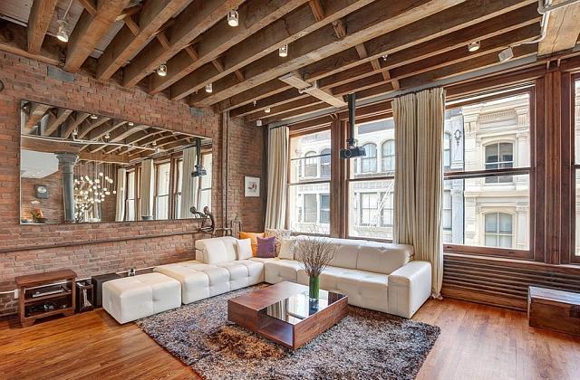 Decorando a casa inspirando-se em lofts de New York