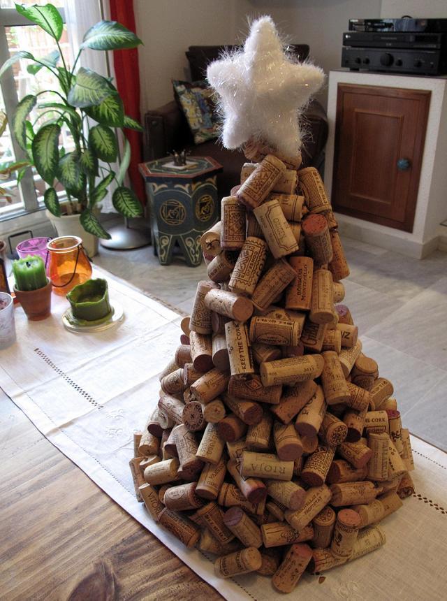 Idéias originais para árvores de Natal faça você mesmo