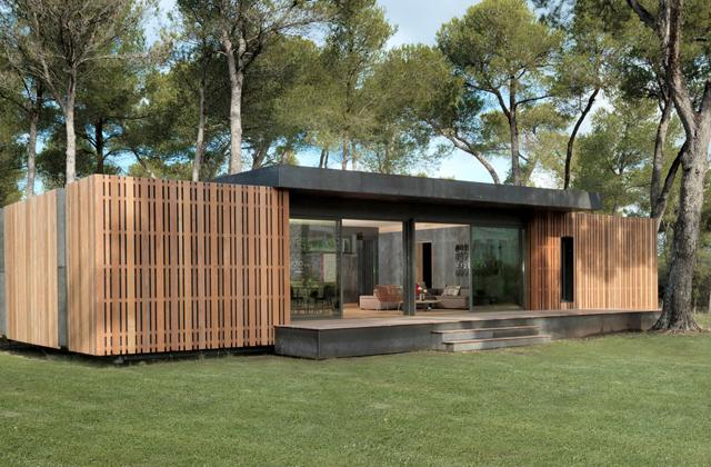 A casa de 150 metros quadrados por 38.000 doláres construída em menos de quatro dias