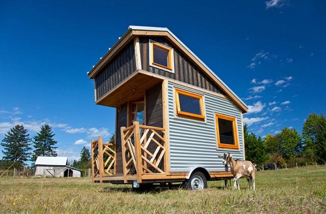 Como construir uma mini casa móvel com menos de 25.000 dólares