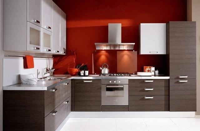 Escolha a cozinha em forma de L para o canto da sua casa