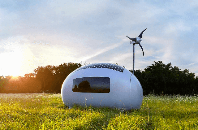 As ecocapsulas, mini- casas do futuro