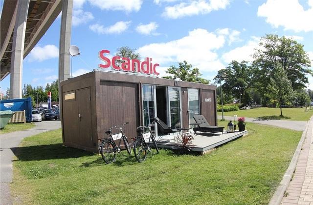 Scandic Hotel, o novo quarto de hotel que viaja com você