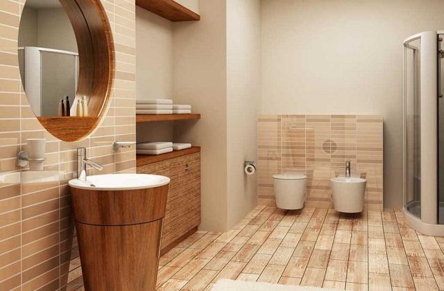 Decorar o banheiro em um estilo moderno para um efeito WOW !!!
